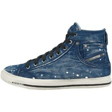 78d81d6c132 Diesel Exposure I Shoes High Top Casual Trainers Indigo Y00023-P1655-T6067
