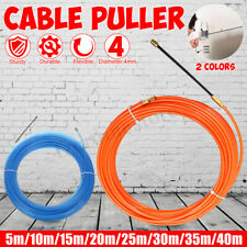 Flexible Draw Tape Electrician Fish Tape Nylon Cable Puller 10m Length DTN10