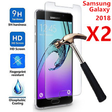For Samsung Galaxy A6 A8Plus 2018 7D Curved Tempered Glass Full Screen Protector