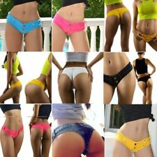 sexy women mini summer pants jeans micro shorts denim low waist shorts clubwear