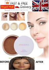 PHOERA® Loose Face Translucent No Filter Setting Powder Foundation Makeup + Puff