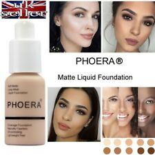 PHOERA® Foundation Concealer Makeup Full Coverage Matte Brighten long lasting UK