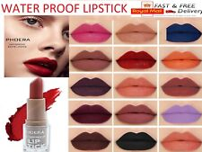 PHOERA® Non Stick Matte Lipstick 14Color Long-lasting Waterproof Moisturizing UK