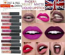 PHOERA® Velvet Matte Liquid Lipstick Original Long Lasting Creamy Look Lip Gloss