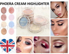 PHOERA Cream Highlighter Face Foundation SooGlow Shimmer Brighten Powder Palette