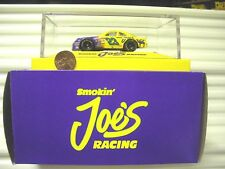 Matchbox 1/64 Scale Nascar Cars in Plexi Case Smokin Joes Coors Kodiak Bud NuBxd