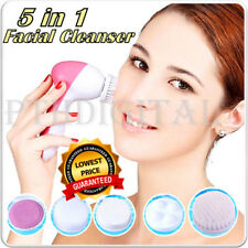 5 In 1 Electric Facial Skin Face Care Cleaner Brush Massage