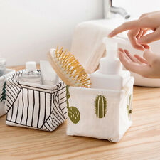 Organizer Toy Container Table Closet Nordic Style Storage Bin Fabric Basket