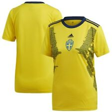 adidas Sweden Women's National Team Women's Yellow 2019 Home Replica Jersey
