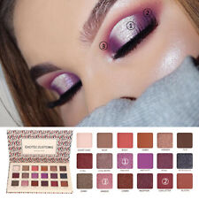 18 Colors Eyeshadow Shimmer Glitter Eye Shadow Palette Makeup Cosmetic Charming