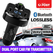 Radio MP3 Player Bluetooth FM Transmitter Handsfree Car Kit USB Charger Wireless