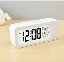 Battery  Digital Smart Alarm Clock with Temperature and Humidity for Gifts