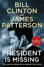President Is Missing by President Bill Clinton Paperback Book Free Shipping!