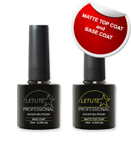 LETUTE™ Matte Top and Base Coat - Professional UV/LED Soak Off Nail Gel Polish
