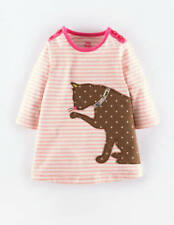 Baby Girls Bunny Crochet T-Shirt Top New Ex Mini Boden Ages 0-3 Easter Chick