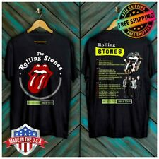 FREESHIP New Rolling Stones No Filter Tour 2019 With Dates T-Shirt Black S-6XL