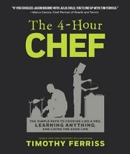 4-hour Chef by Ferriss Timothy Ferriss (English) Hardcover Book Free Shipping!