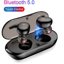 New Wireless Earbud Bluetooth TWS Mini True Twins Stereo Earphone In-Ear Headset