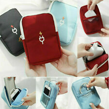 Electronic Accessories Storage Bag Travel USB Cable Charger Organizer Waterproof
