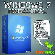 Windows 7 Professional ✔32&64 Bit ✔ Anleitung ✔ Sofortversand per E-Mail