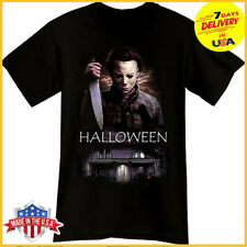 MICHAEL MYERS T SHIRT Halloween Horror Thriller Movie Black Shirt Hot Trending