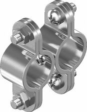 41mm Pipe Pipe Clamp Clamping Band without Shaft DN40 Stainless Steel 40mm