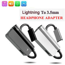 For iPhone 8 7 Plus X XR XS AUX  Headphone Adapter Charger Adapter Charge Cable