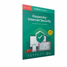 Kaspersky Internet Security 2020 - 1, 3, 5 or 10 PC / Devices 1 or 2 Yr Download
