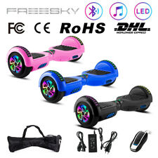 """Electric Scooters 6.5"""" Self-Balancing Scooter Smart 2 Wheels Balance Hoverboard"""