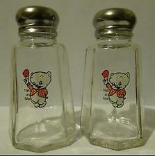 Nice Set of Porky The Pig That's All Folks Salt & Pepper Shakers