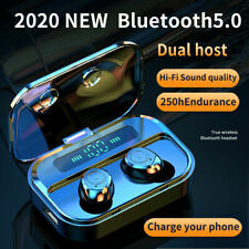 Bluetooth 5.0 Headset Wireless TWS Earphones Earbuds Headphones Stereo HiFi New