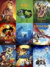 Disney Characters & Movie Poster Heat Iron On Tee T-Shirt Transfer A5