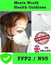 1 - 20 Anti Virus STRONG Protection Medical Surgical Mask Approved FFP2 N95 P2