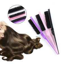Fashion Durable Hair Teasing Brush Mustaches Tool Bristle Comb Hairdressing
