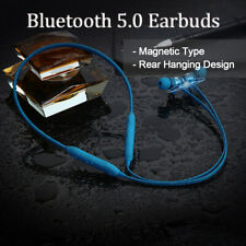 Rear Hanging Gym Earbuds Bluetooth 5.0 Headset Headphone for iPhone/Android