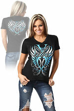 "Official TNA Velvet Sky ""Sky's the limit"" Impact Wrestling Ladies T-Shirt"