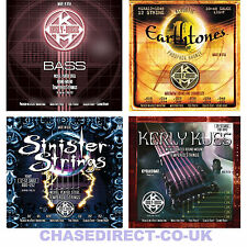 Kerly Long Life Guitar Strings Acoustic Bass Electric Sinister Kues Earthtones
