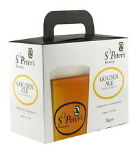St Peters Brewery Real Ale Home brew beer kit. Choice of any three.