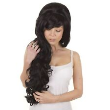 Extra Long Volume Amy Winehouse Wig | Lolita Cosplay Wigs | Black, Blonde, Pink