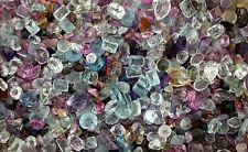 100 Carats Chipped  Abraided Broken Natural & Synthetic Gem Stones Gemstones
