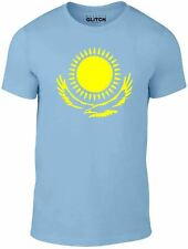 Bravado Official Kazakhstan Comendian Star Borat Mountain Sky Blue T-Shirt G XL
