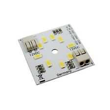 HighPower LED Modul 40x40mm, 9 OSRAM SMD Leds 400/450lm 12V DC 4,5W Leiste Stirp