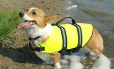 NEW Neon Yellow Life Jacket Vest for Dogs - PAWS ABOARD- Several sizes available