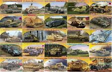 Dragon - 1/72 WWII Tanks & Military Vehicles