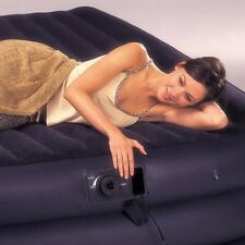 INTEX Queen Inflatable Air Bed with Electric Pump Double Airbed Mattress