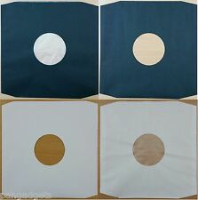 "12"" Polylined and Paper White Black Record Inner Sleeves Variations"