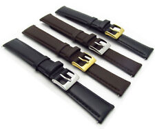 Soft Genuine Leather Extra Long XL watch Strap Band Choice of colour FREE UK P&P