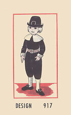 Reproduction Vintage Pilgrim Boy or Girl Doll Sewing Pattern