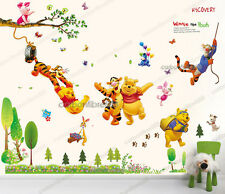 Giant Combo WINNIE THE POOH Wall Stickers Nursery Girls Boys Kids Room Decal Art