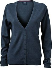 JN660 Damencardigan Strickjacke Damen Cardigan V-Neck